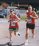 1999 Alberni 10K - Bob and Shelby Reid