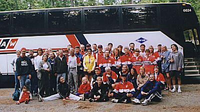 1999 Alberni 10K - The only way to travel!