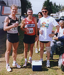 1999 Alberni 10K - Pomaizl, Reid and Creery
