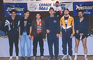 1999 Comox Half Marathon - M3034 Age Group - Alex Coffin wins