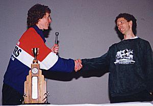 1999 Harriers 8K - Lookalikes Rob Reid and Greg Marchand