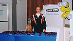 1999 Harriers 8K - Len Maycock and the awards