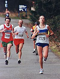 1999 Hatley Castle 8K - Mills outruns Cowell and Horrocks