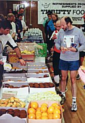1999 Hatley Castle 8K - Post race refreshment