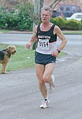 1999 Mill Bay 10K - Vlad Pomaizl and his best friend
