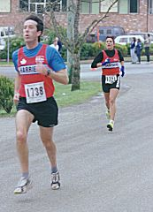 1999 Mill Bay 10K - Sandy Stewart and Colleen Grady