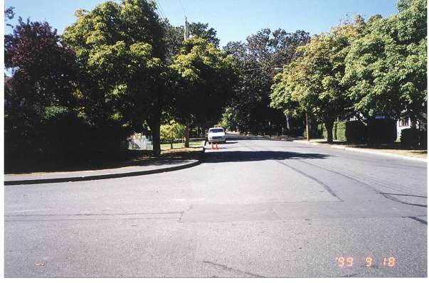 Royal Victoria Marathon Landmarks - 1999 Course - 20 miles - Windsor Rd.