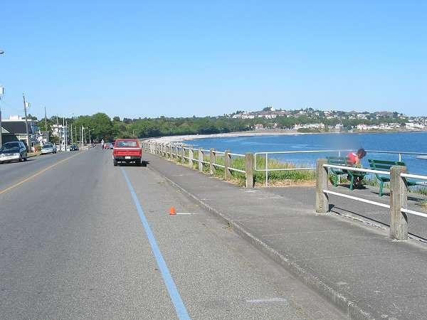 Royal Victoria Marathon Landmarks - 1999 Course - 12 km - Ross Bay