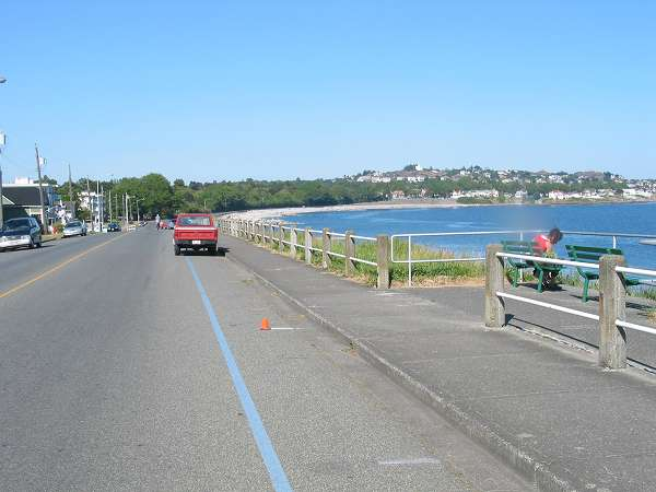 Royal Victoria Marathon Landmarks - 1999 Course - 12 km - Ross Bay