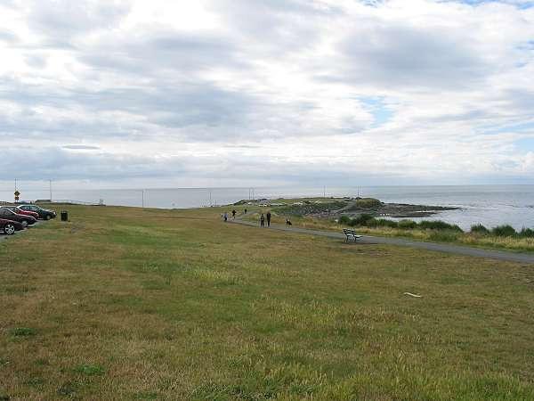 Royal Victoria Marathon Landmarks - 1999 Course - Clover Point - at 12 km and 37 km
