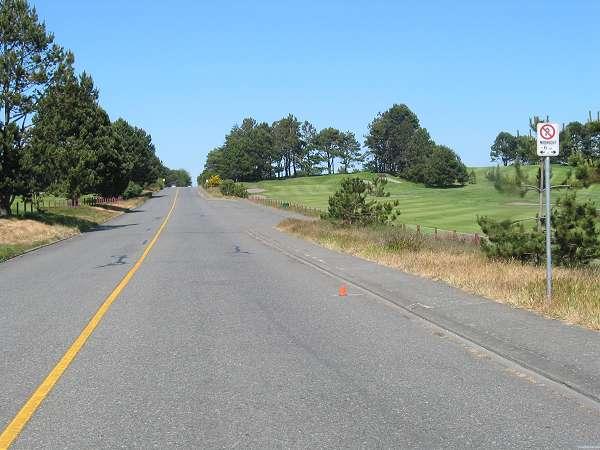 Royal Victoria Marathon Landmarks - 1999 Course - 19 km - Victoria Golf Club (Members Only)