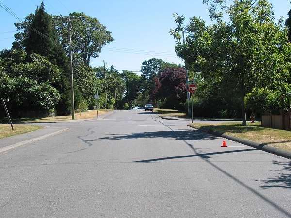Royal Victoria Marathon Landmarks - 1999 Course - 17 km - Transit and Central