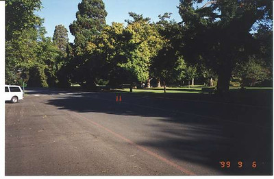 Royal Victoria Marathon Landmarks - 1999 Course - 5 km - Beacon Hill Park