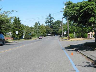 Royal Victoria Marathon Landmarks - 1999 Course - 15 km - Richardson St.