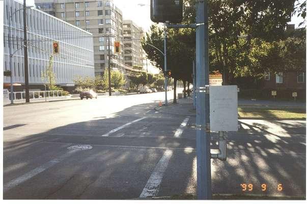 Royal Victoria Marathon Landmarks - 1999 Course - 2 km - Johnson St. at Vancouver
