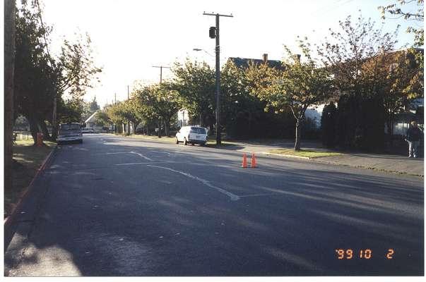 Royal Victoria Marathon Landmarks - 1999 Course - 41 km - Erie St.