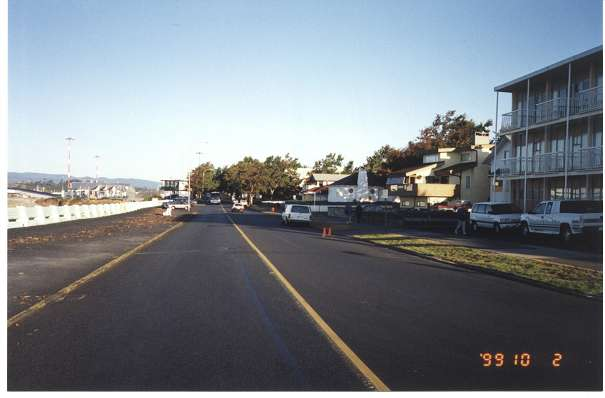 Royal Victoria Marathon Landmarks - 1999 Course - 40 km - The Breakwater