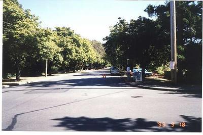 Royal Victoria Marathon Landmarks - 1999 Course - 10 miles - Windsor Rd.