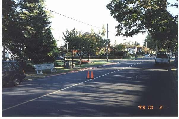 Royal Victoria Marathon Landmarks - 1999 Course - 27 km - Past Willows Beach