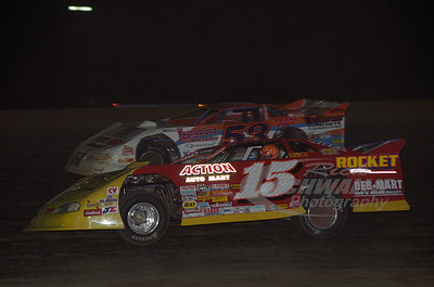 15 Steve Francis and 53 Ray Cook