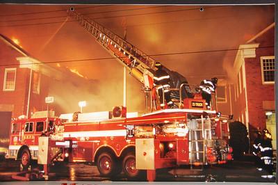 Fire Trucks in Action Calendar - 2001