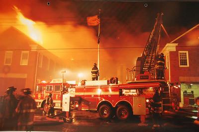 Fire Trucks in Action Calendar - 2002