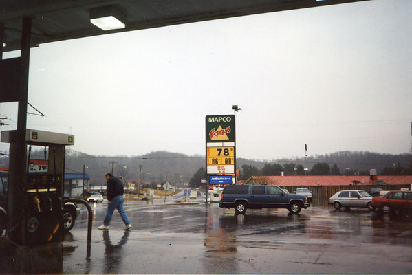 Jan. 2 - Cheap gas in Tennessee