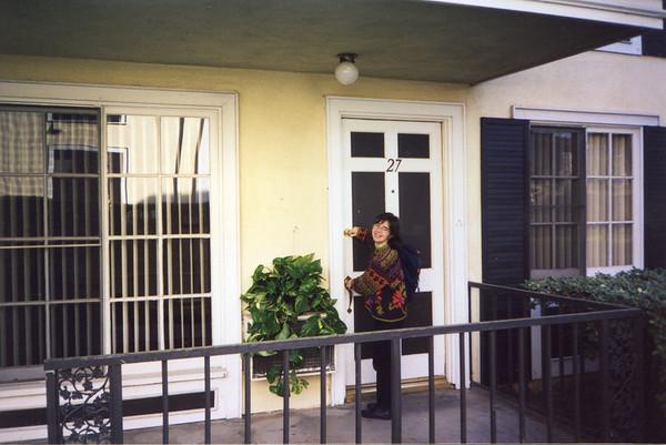 Jan. 6 - Raquels new apartment, Tustin, Ca.