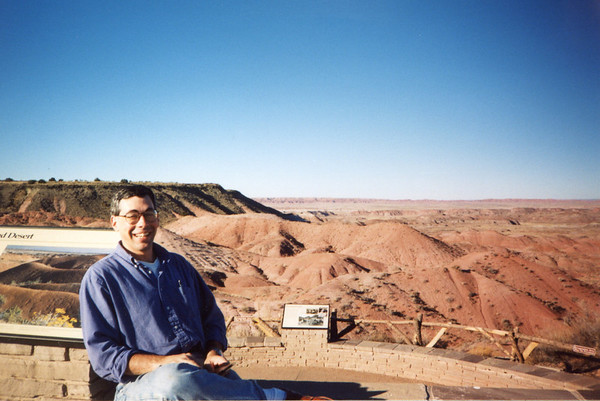 Jan. 4 -- Painted Desert, Arizona.