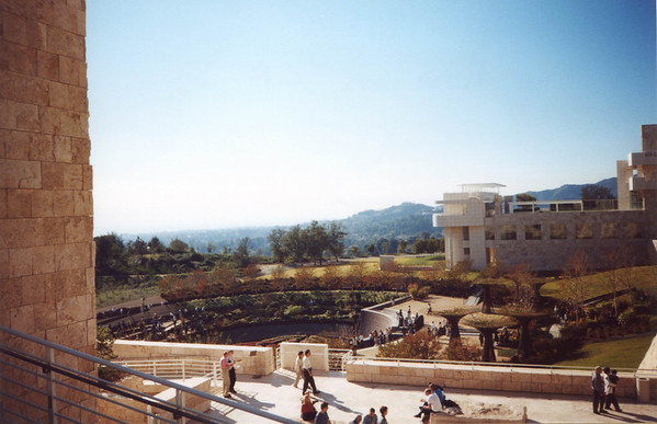 The day after Christmas, Getty Museum, LA.