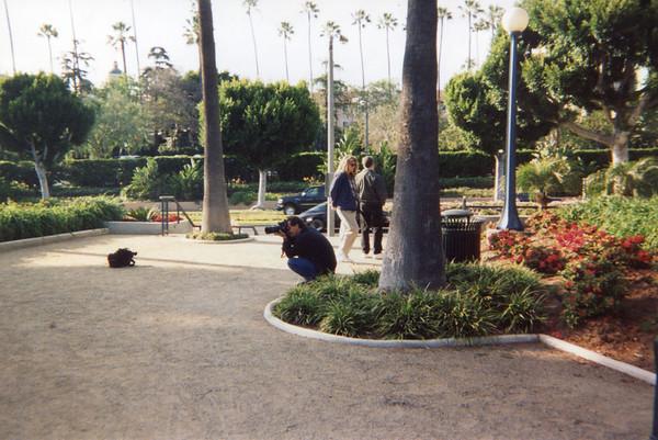 McArthur Park, Beverly Hills.