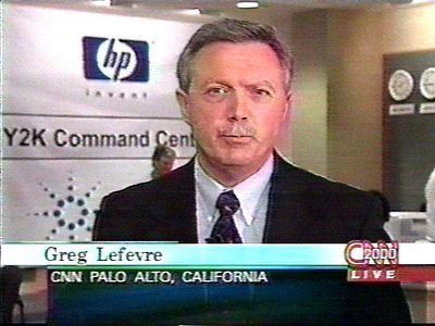 Greg LeFevre was CNN's technology correspondent covering our activities on the evening of December 31, 1999