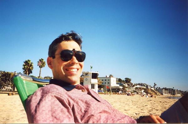 Relaxing in Laguna Beach, Ca.