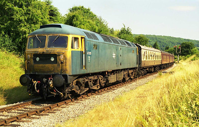 ...and an afternoon stop at Winchcombe in glorious sunshine (23/07/1999)