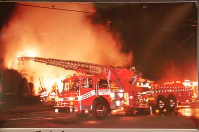 Fire Trucks in Action Calendar - 2000