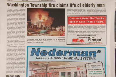 1st Responder Newspaper - April 1999