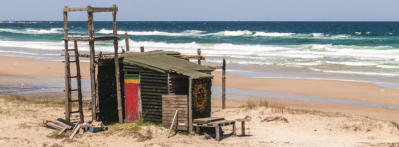Cabaña sobre las dunas