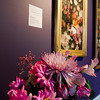 Leticia Schiavitti's interpretation of  'Garden Flowers' on display at Fitchburg Art Museum's 19th Annual Art in Bloom on Friday, March 31, 2017. SENTINEL & ENTERPRISE / Ashley Green