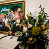 Jean Belliveau's interpretation of 'The Gathering' on display at Fitchburg Art Museum's 19th Annual Art in Bloom on Friday, March 31, 2017. SENTINEL & ENTERPRISE / Ashley Green