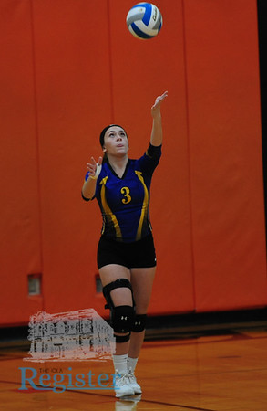 1A Regional Volleyball Tournament in Moran - 10/16