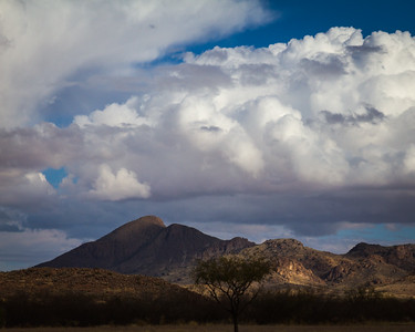 Cumulus in Arizona