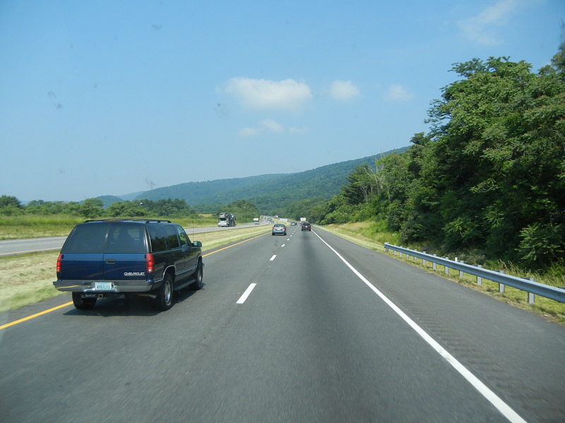 Highway leading from Ivy, Virginia.