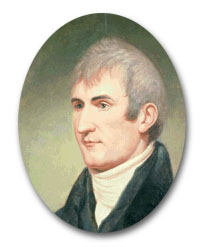 One of only a few paintings of Meriwether Lewis.   His sitting for this portrait was when he was 32 years of age, and after the completion of the Lewis and Clark Expedition.