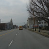 Downtown Cairo, Illinois.  This town is flooded almost every year and is a dying community.