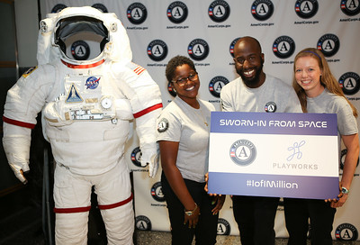 AmeriCorps celebrates 1 Million members at NASA HQ in Washington, D.C. on October 7, 2016. #1of1Million. Corporation for National and Community Service Photo.