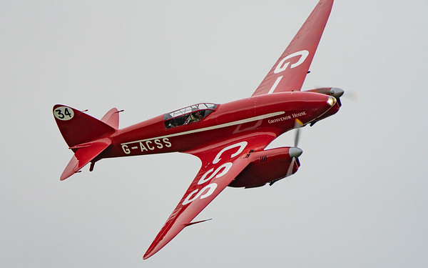 Shuttleworth, Shuttleworth De-Havilland Airshow - Sun 27/09/2020@16:44