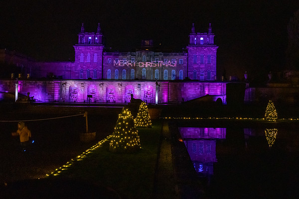 Christmas at Blenheim Palace 2019, Illuminated Light Trail - 31/12/2019@19:42