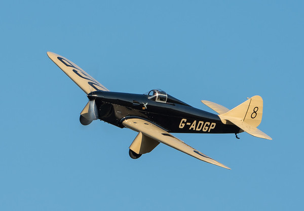 Family Airshow 2018, Old Warden, Practice display, Shuttleworth - 05/08/2018:18:58