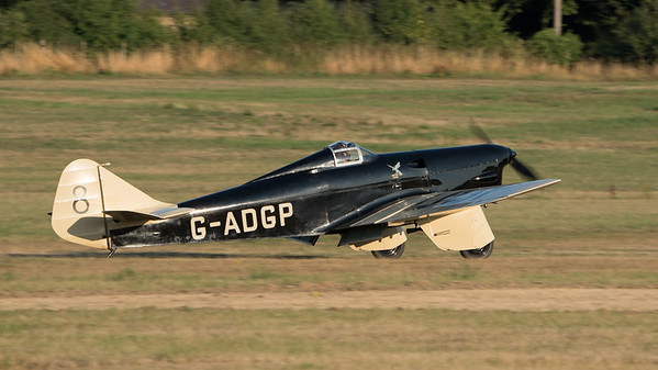 Family Airshow 2018, Old Warden, Practice display, Shuttleworth - 05/08/2018:19:04
