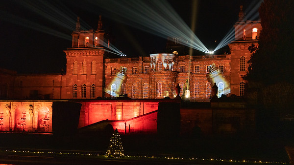 Christmas at Blenheim Palace 2019, Illuminated Light Trail - 31/12/2019@19:35